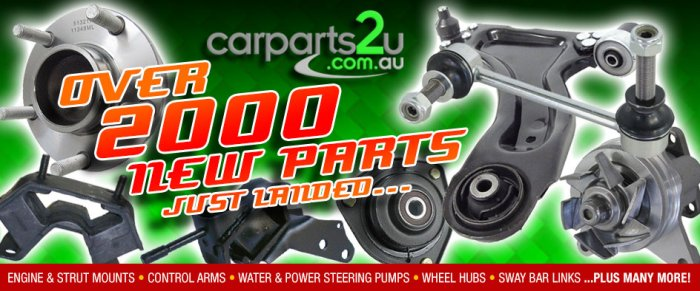 New & Aftermarket Car Parts and Replacement Auto Spares Shop for all the major brands, Ford, Holden, Toyota, Nissan, Subaru, Mitsubishi, Honda, Mazda, Kia, Daewoo, Hyundai & more. Penrith, Sydney based Australian Online Car Part Store. ../../dc/banner/carparts2u-NewParts-v3.jpg