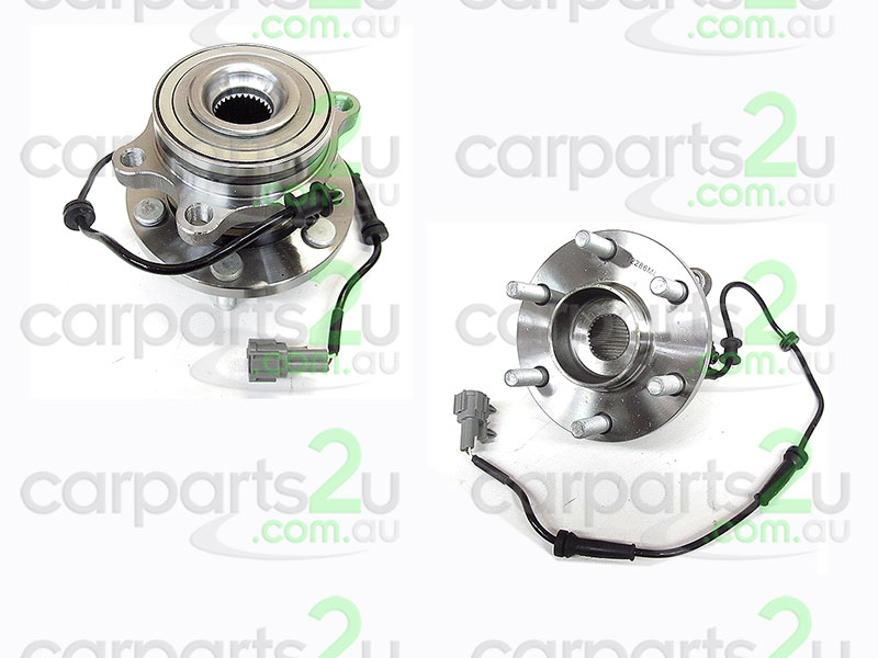 NISSAN NAVARA D40T UTE *THAI BUILD MNT*  FRONT WHEEL HUB - New quality car parts & auto spares online New Zealand wide with the convenience of shopping from your own home. Carparts 2U NZ