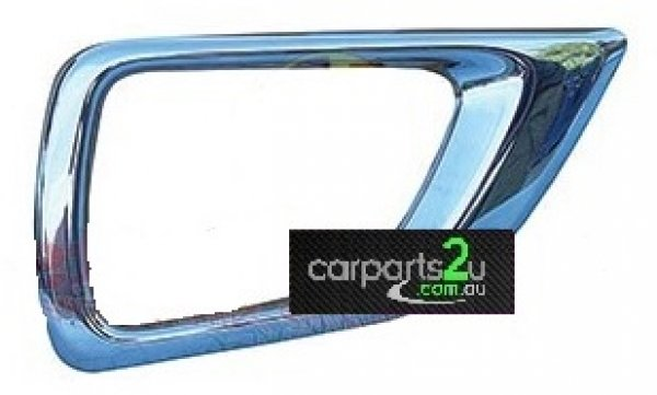 To suit NISSAN  NAVARA  FOG LIGHT BEZEL - New quality car parts & auto spares online New Zealand wide with the convenience of shopping from your own home. Carparts 2U NZ