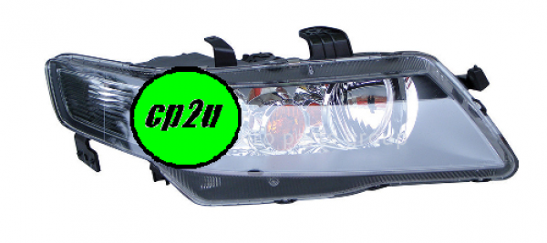 HONDA ACCORD CL EURO  HEAD LIGHT - New quality car parts & auto spares online Australia wide with the convenience of shopping from your own home. Carparts 2U Penrith Sydney