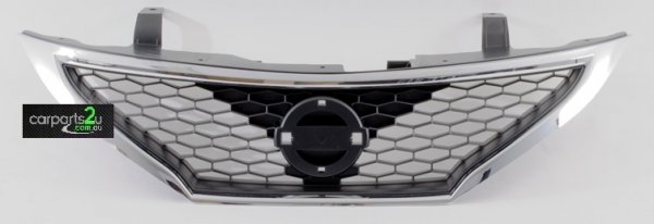 To suit NISSAN PULSAR C12 HATCH  GRILLE - New quality car parts & auto spares online Australia wide with the convenience of shopping from your own home. Carparts 2U Penrith Sydney