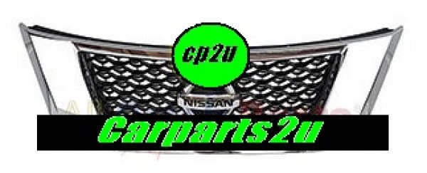 NISSAN PATHFINDER K12  GRILLE - New quality car parts & auto spares online Australia wide with the convenience of shopping from your own home. Carparts 2U Penrith Sydney