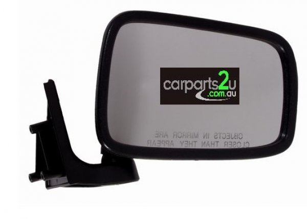 To suit FORD COURIER PC  FRONT DOOR MIRROR - New quality car parts & auto spares online Australia wide with the convenience of shopping from your own home. Carparts 2U Penrith Sydney