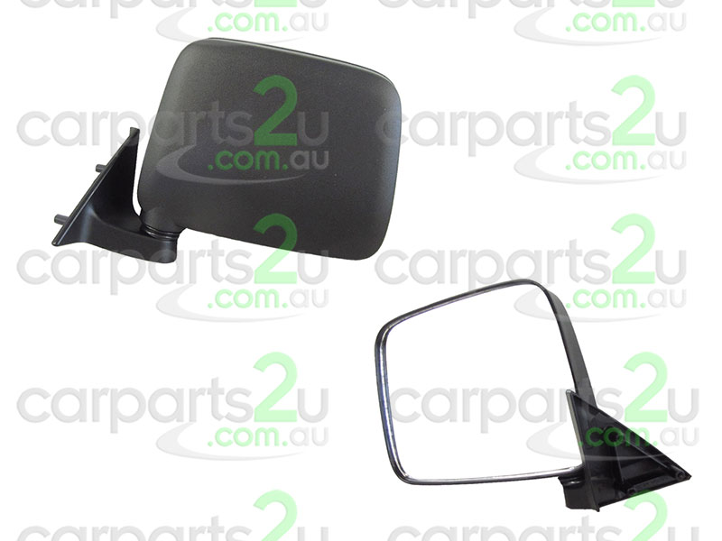 FORD COURIER KN/KQ  FRONT DOOR MIRROR - New quality car parts & auto spares online Australia wide with the convenience of shopping from your own home. Carparts 2U Penrith Sydney