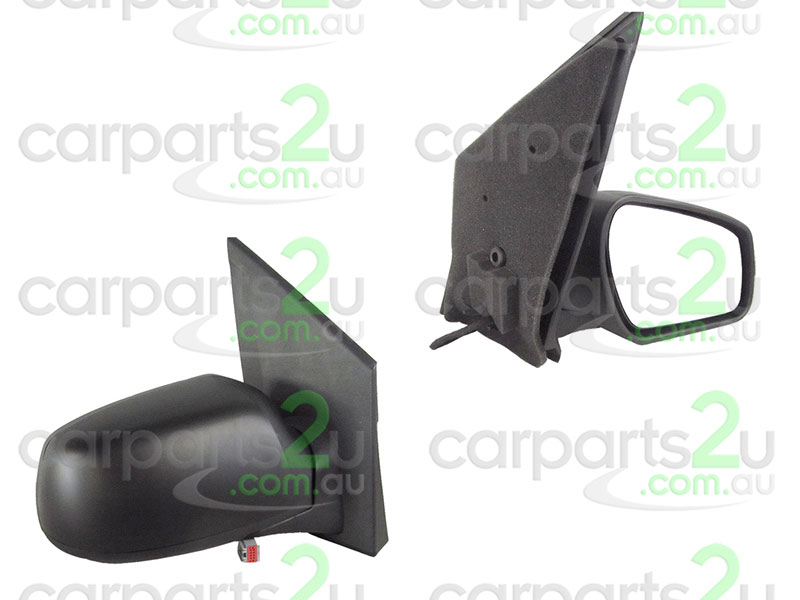 FORD FIESTA FIESTA WP/WQ  FRONT DOOR MIRROR - New quality car parts & auto spares online Australia wide with the convenience of shopping from your own home. Carparts 2U Penrith Sydney