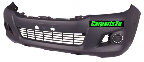 TOYOTA HILUX HILUX UTE 4WD  FRONT BUMPER - New quality car parts & auto spares online Australia wide with the convenience of shopping from your own home. Carparts 2U Penrith Sydney
