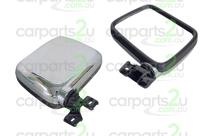 HOLDEN RODEO CRUZE JG  FRONT DOOR MIRROR - New quality car parts & auto spares online Australia wide with the convenience of shopping from your own home. Carparts 2U Penrith Sydney