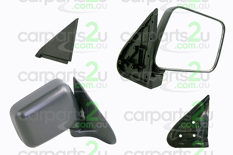 HOLDEN RODEO TF  FRONT DOOR MIRROR - New quality car parts & auto spares online Australia wide with the convenience of shopping from your own home. Carparts 2U Penrith Sydney