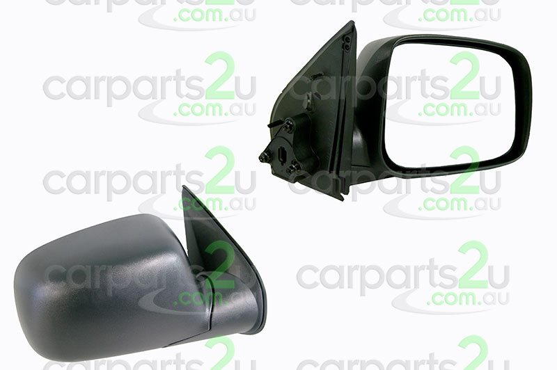 HOLDEN RODEO RA  FRONT DOOR MIRROR - New quality car parts & auto spares online Australia wide with the convenience of shopping from your own home. Carparts 2U Penrith Sydney