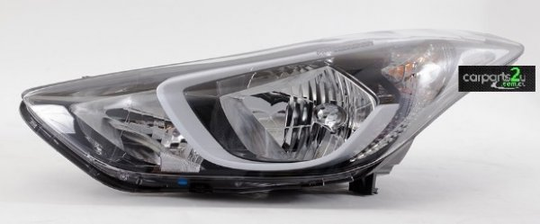 HYUNDAI ELANTRA I30 GD  HEAD LIGHT - New quality car parts & auto spares online Australia wide with the convenience of shopping from your own home. Carparts 2U Penrith Sydney