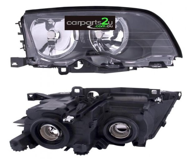 BMW 3 SERIES E46  HEAD LIGHT - New quality car parts & auto spares online Australia wide with the convenience of shopping from your own home. Carparts 2U Penrith Sydney