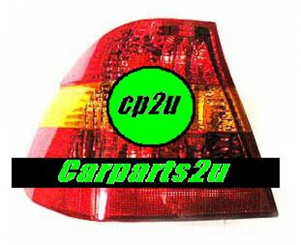 TO SUIT BMW 3 SERIES E46  TAIL LIGHT  LEFT - BRAND NEW LEFT HAND SIDE TAIL LIGHT TO SUIT BMW 3 SERIES E46 SEDAN MODELS BETWEEN 10/01-8/06 (RED/AMBER/RED TYPE)