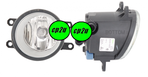 TOYOTA YARIS KLUGER GSU40/GSU45  FOG LIGHT - New quality car parts & auto spares online Australia wide with the convenience of shopping from your own home. Carparts 2U Penrith Sydney