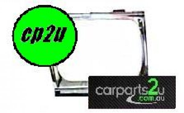 TO SUIT TOYOTA 4 RUNNER / SURF 4 RUNNER / SURF  HEAD LIGHT RIM  LEFT - LEFT HAND SIDE CHROME HEADLIGHT RIM TO SUIT TOYOTA 4 RUNNER & SURF MODELS BETWEEN 1988-1991
