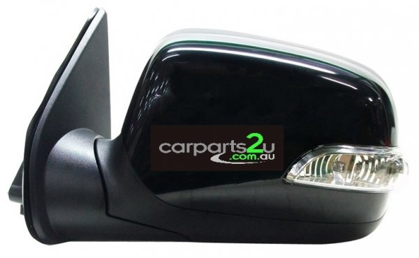To suit HOLDEN COLORADO  FRONT DOOR MIRROR - New quality car parts & auto spares online Australia wide with the convenience of shopping from your own home. Carparts 2U Penrith Sydney