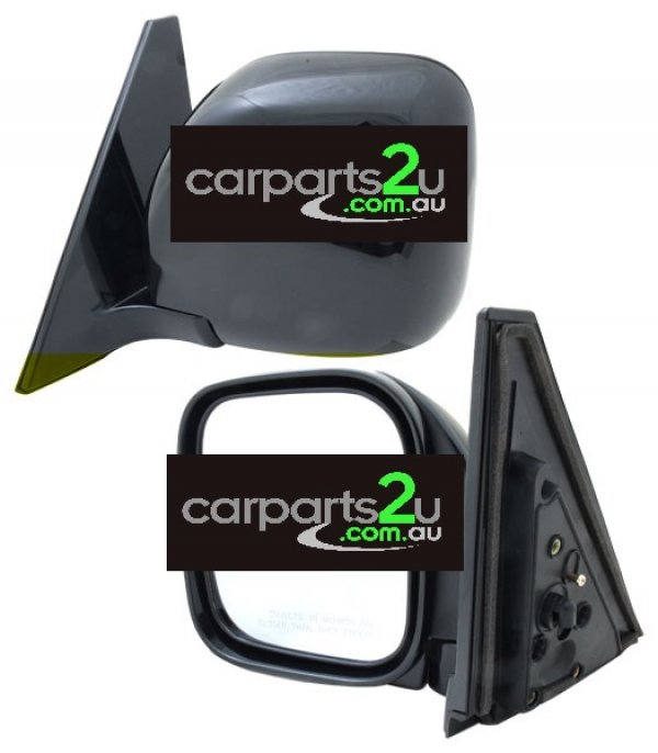 MITSUBISHI PAJERO  FRONT DOOR MIRROR - New quality car parts & auto spares online Australia wide with the convenience of shopping from your own home. Carparts 2U Penrith Sydney