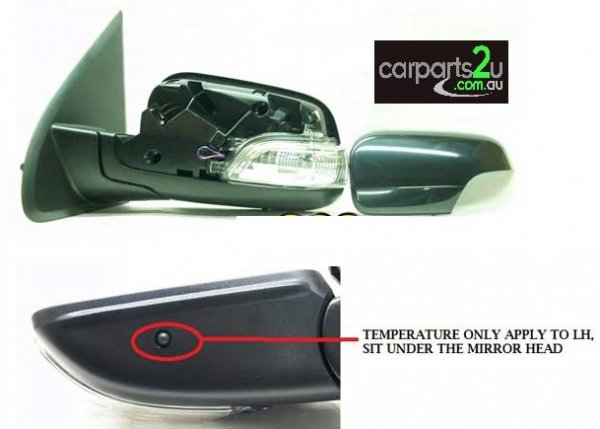 FORD TERRITORY TERRITORY SZ  FRONT DOOR MIRROR - New quality car parts & auto spares online Australia wide with the convenience of shopping from your own home. Carparts 2U Penrith Sydney