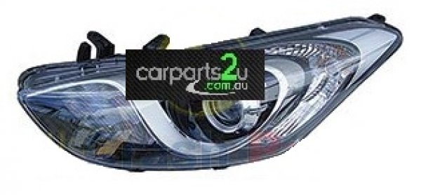 HYUNDAI I30 I30 GD  HEAD LIGHT - New quality car parts & auto spares online Australia wide with the convenience of shopping from your own home. Carparts 2U Penrith Sydney
