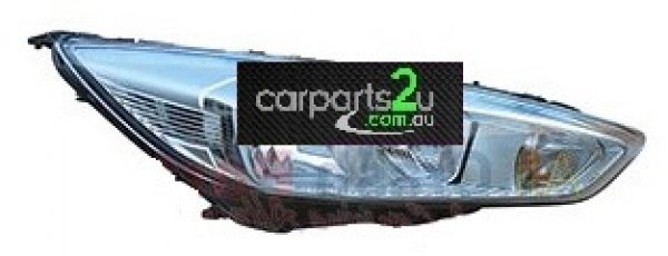 FORD FOCUS FOCUS LZ  HEAD LIGHT - New quality car parts & auto spares online Australia wide with the convenience of shopping from your own home. Carparts 2U Penrith Sydney