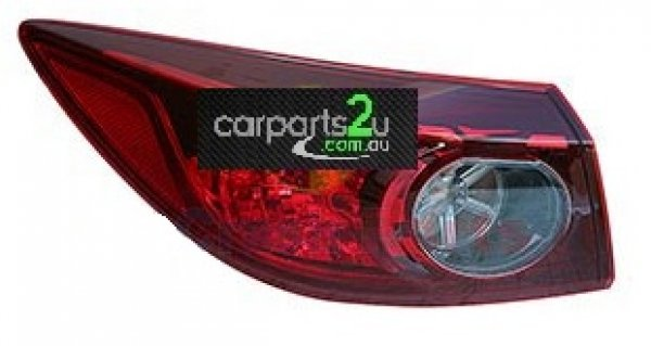 MAZDA MAZDA 3 MAZDA 3 BN  TAIL LIGHT - New quality car parts & auto spares online Australia wide with the convenience of shopping from your own home. Carparts 2U Penrith Sydney
