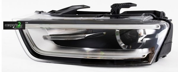 AUDI Q3 Q3 8U  HEAD LIGHT - New quality car parts & auto spares online Australia wide with the convenience of shopping from your own home. Carparts 2U Penrith Sydney