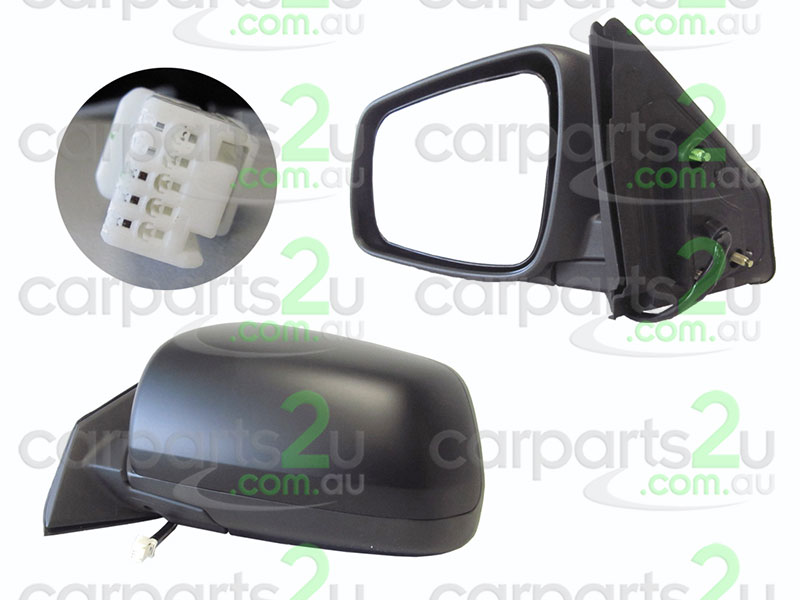 MITSUBISHI LANCER CH  FRONT DOOR MIRROR - New quality car parts & auto spares online Australia wide with the convenience of shopping from your own home. Carparts 2U Penrith Sydney