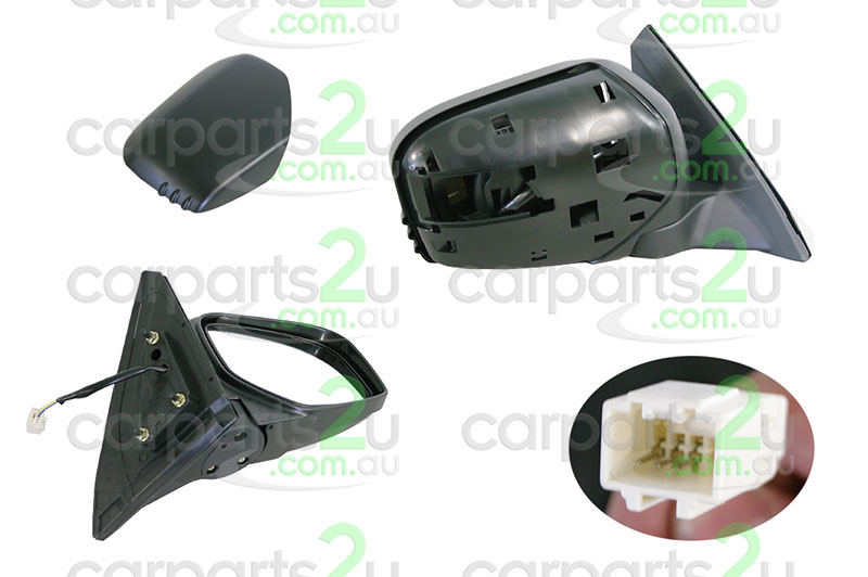 MITSUBISHI TRITON ML  FRONT DOOR MIRROR - New quality car parts & auto spares online Australia wide with the convenience of shopping from your own home. Carparts 2U Penrith Sydney