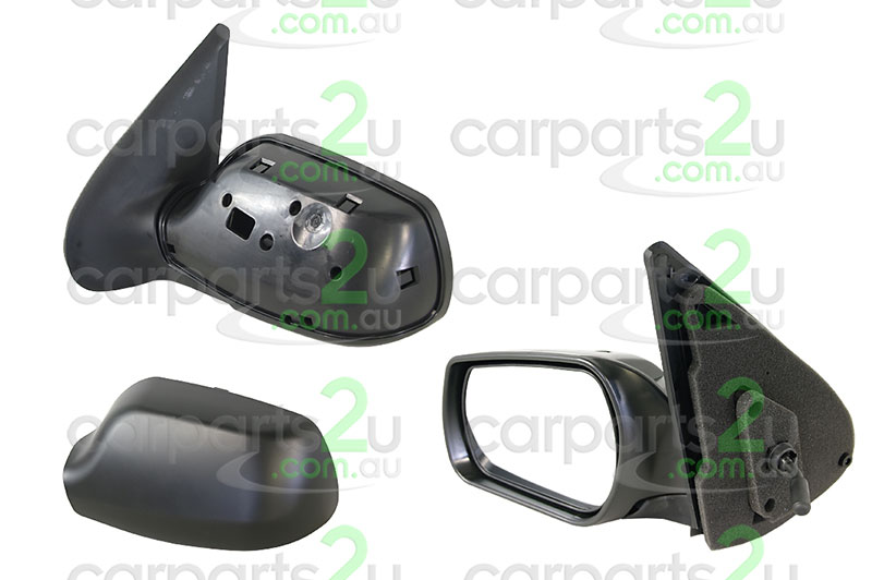 MAZDA MAZDA 2 B SERIES UTE UF  FRONT DOOR MIRROR - New quality car parts & auto spares online Australia wide with the convenience of shopping from your own home. Carparts 2U Penrith Sydney