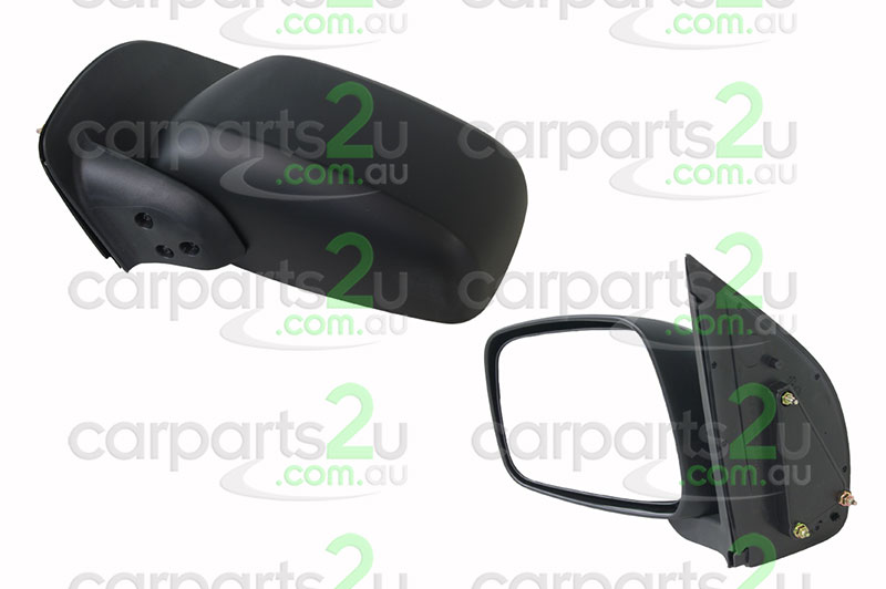 NISSAN NAVARA D22 UTE  FRONT DOOR MIRROR - New quality car parts & auto spares online Australia wide with the convenience of shopping from your own home. Carparts 2U Penrith Sydney