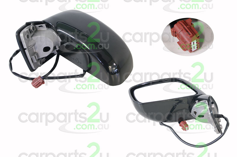 NISSAN TIIDA GU / Y61  FRONT DOOR MIRROR - New quality car parts & auto spares online Australia wide with the convenience of shopping from your own home. Carparts 2U Penrith Sydney