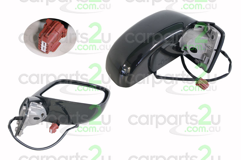 NISSAN TIIDA C11  FRONT DOOR MIRROR - New quality car parts & auto spares online Australia wide with the convenience of shopping from your own home. Carparts 2U Penrith Sydney