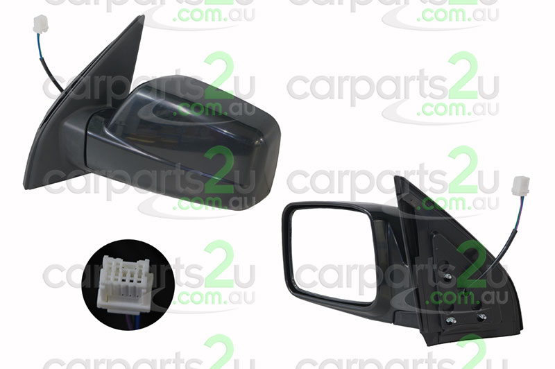 NISSAN X-TRAIL C11  FRONT DOOR MIRROR - New quality car parts & auto spares online Australia wide with the convenience of shopping from your own home. Carparts 2U Penrith Sydney