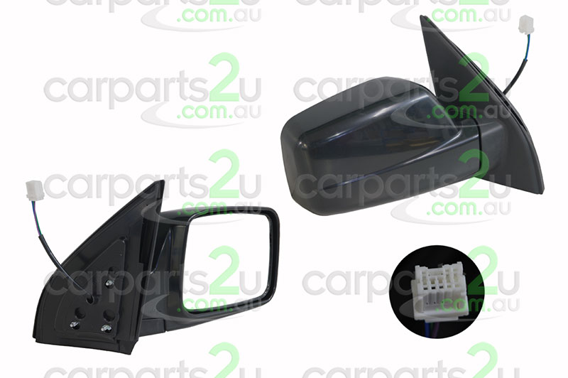 NISSAN X-TRAIL T30  FRONT DOOR MIRROR - New quality car parts & auto spares online Australia wide with the convenience of shopping from your own home. Carparts 2U Penrith Sydney