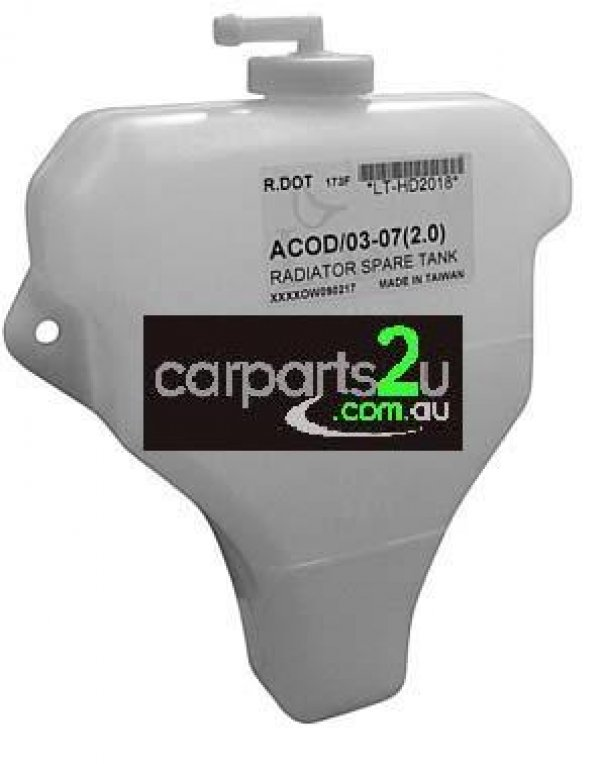 TO SUIT HONDA ACCORD CM  OVERFLOW BOTTLE  NA - BRAND NEW OVERFLOW BOTTLE TO SUIT HONDA ACCORD CM 2.4 LITRE MODELS BETWEEN 2002-2008