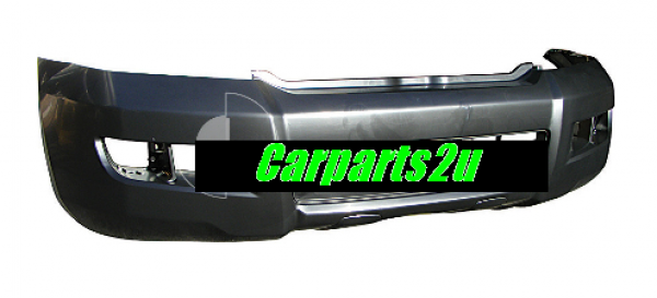 TOYOTA PRADO PRADO 120 SERIES  FRONT BUMPER - New quality car parts & auto spares online Australia wide with the convenience of shopping from your own home. Carparts 2U Penrith Sydney