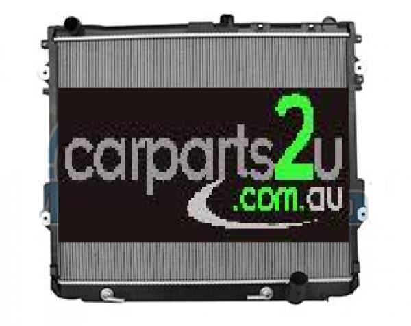 TOYOTA LANDCRUISER 200 SERIES  RADIATOR - New quality car parts & auto spares online Australia wide with the convenience of shopping from your own home. Carparts 2U Penrith Sydney