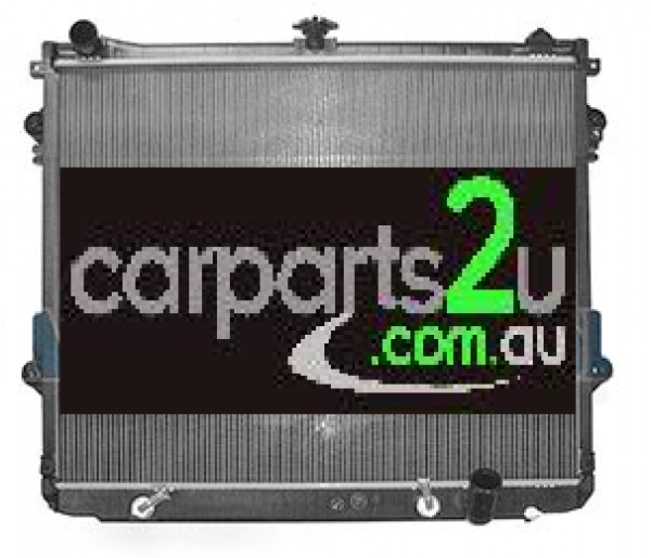 TOYOTA LANDCRUISER 100 SERIES  RADIATOR - New quality car parts & auto spares online Australia wide with the convenience of shopping from your own home. Carparts 2U Penrith Sydney