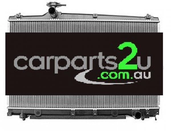 TOYOTA AVENSIS TARAGO WAGON ACR50  RADIATOR - New quality car parts & auto spares online Australia wide with the convenience of shopping from your own home. Carparts 2U Penrith Sydney
