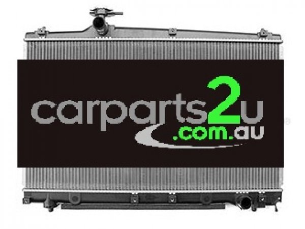 TOYOTA AVENSIS 200 SERIES  RADIATOR - New quality car parts & auto spares online Australia wide with the convenience of shopping from your own home. Carparts 2U Penrith Sydney