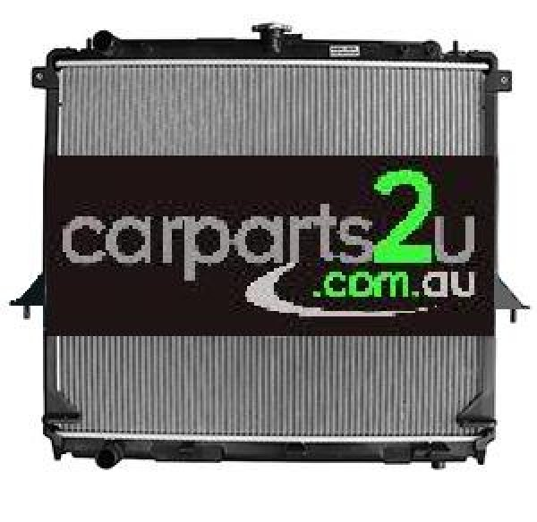 NISSAN NAVARA D40T UTE *THAI BUILD MNT*  RADIATOR - New quality car parts & auto spares online Australia wide with the convenience of shopping from your own home. Carparts 2U Penrith Sydney