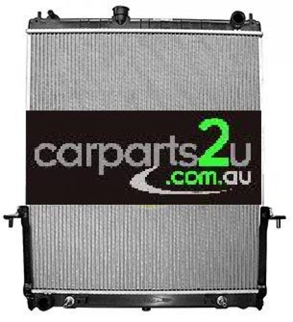 NISSAN PATROL GU / Y61  RADIATOR - New quality car parts & auto spares online Australia wide with the convenience of shopping from your own home. Carparts 2U Penrith Sydney