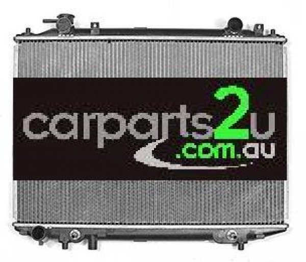 MAZDA BT-50 MAZDA 3 BK  RADIATOR - New quality car parts & auto spares online Australia wide with the convenience of shopping from your own home. Carparts 2U Penrith Sydney