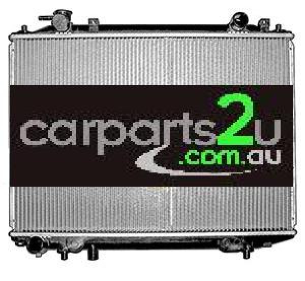 MAZDA B SERIES UTE / BRAVO BRAVO UN  RADIATOR - New quality car parts & auto spares online Australia wide with the convenience of shopping from your own home. Carparts 2U Penrith Sydney