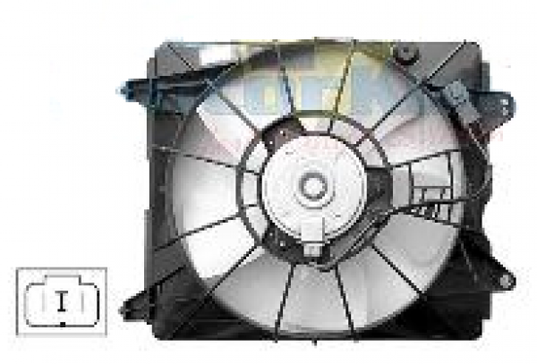 HONDA CIVIC EU HATCH  RADIATOR FAN ASSEMBLY - New quality car parts & auto spares online Australia wide with the convenience of shopping from your own home. Carparts 2U Penrith Sydney