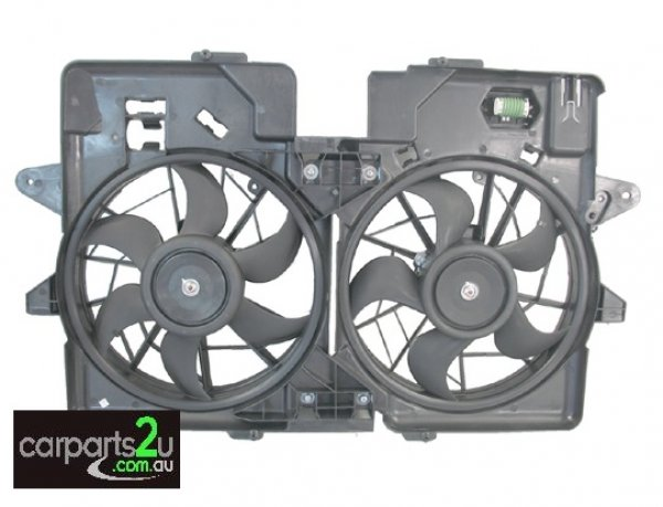 FORD ESCAPE FG SERIES 2  RADIATOR FAN ASSEMBLY - New quality car parts & auto spares online Australia wide with the convenience of shopping from your own home. Carparts 2U Penrith Sydney