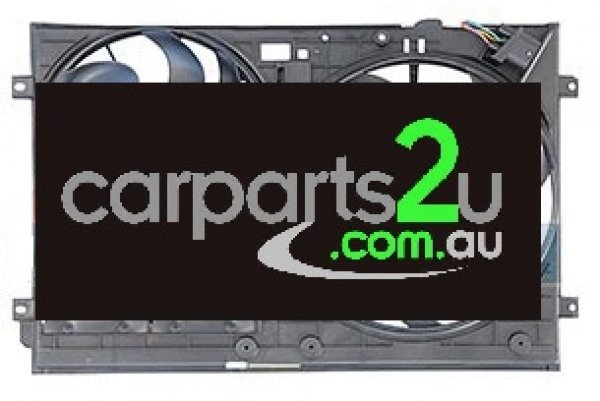 AUDI A3 A3 8P  RADIATOR FAN ASSEMBLY - New quality car parts & auto spares online Australia wide with the convenience of shopping from your own home. Carparts 2U Penrith Sydney