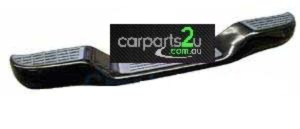 MITSUBISHI TRITON  REAR BUMPER - New quality car parts & auto spares online Australia wide with the convenience of shopping from your own home. Carparts 2U Penrith Sydney