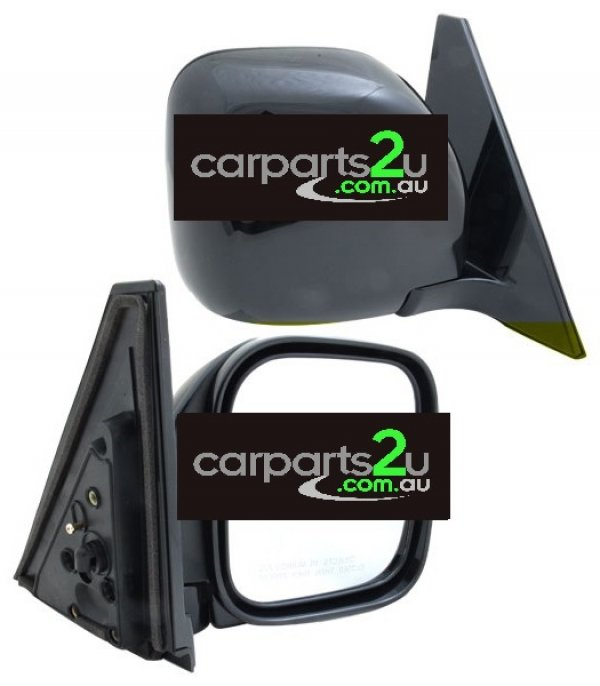 MITSUBISHI PAJERO NM  FRONT DOOR MIRROR - New quality car parts & auto spares online Australia wide with the convenience of shopping from your own home. Carparts 2U Penrith Sydney