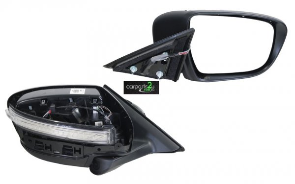 NISSAN X-TRAIL J32  FRONT DOOR MIRROR - New quality car parts & auto spares online Australia wide with the convenience of shopping from your own home. Carparts 2U Penrith Sydney