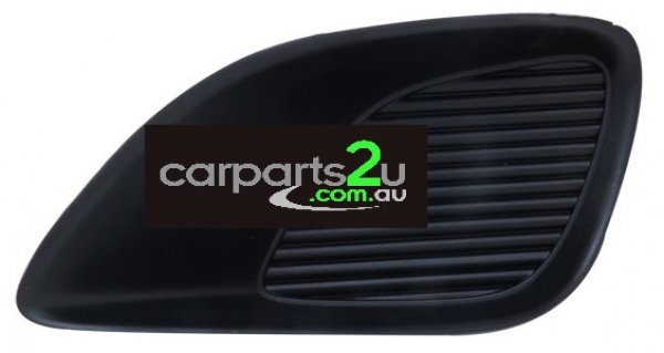 TO SUIT TOYOTA YARIS YARIS SEDAN NCP23  FOG LIGHT COVER  LEFT - LEFT HAND SIDE FRONT BAR GRILLE/FOG LIGHT COVER (NON FOG LIGHT TYPE) TO SUIT TOYOTA YARIS 4 DOOR SEDAN MODELS BETWEEN 1/2006-CURRENT